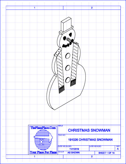 christmas snowman project plan