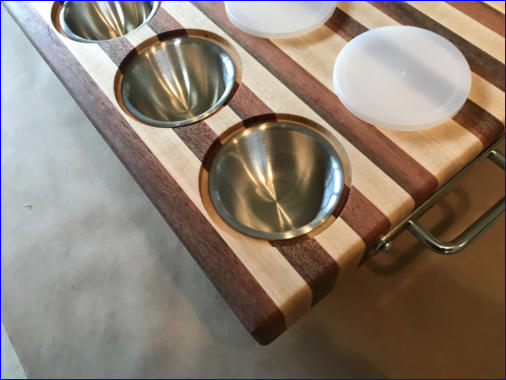 edge grain cutting board finished plan